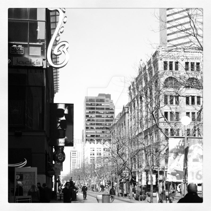 16th Street Mall by Cherynic