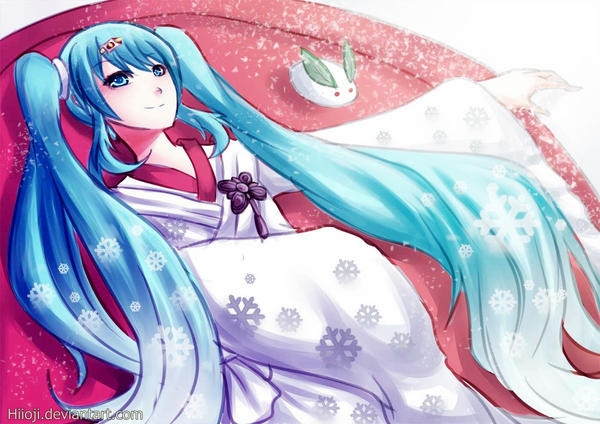 Snow Miku by Hiioji