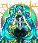 Hatsune Miku : P4DAN ver