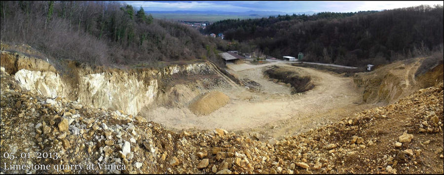Limestone quarry at Vinica by Ajna357 on DeviantArt