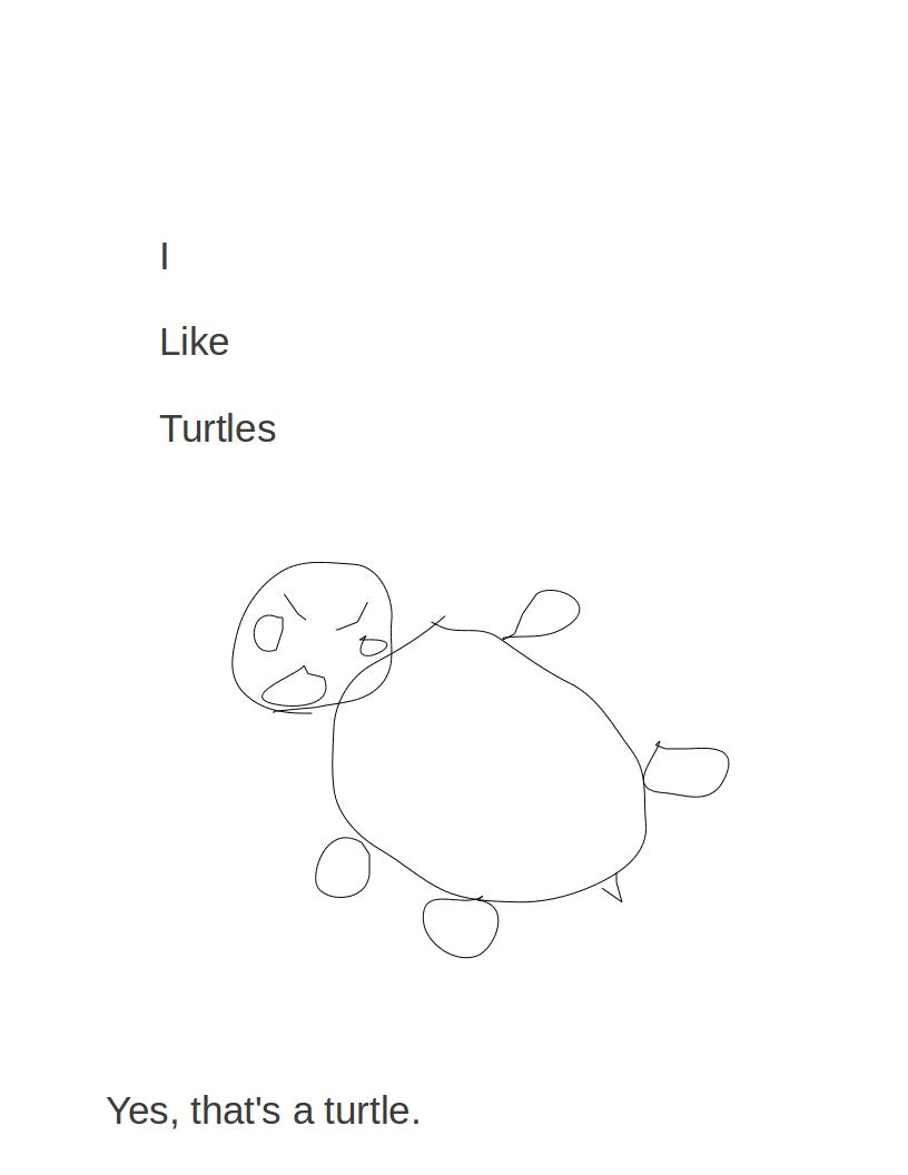 I like turtles by nihil
