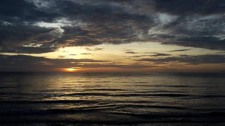 Sunrise over Atauro