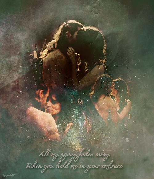 Gannicus and Sibyl by galato