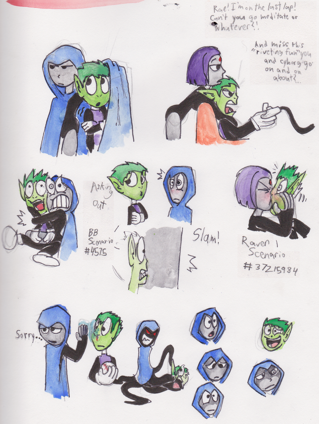 Beast Boy And Raven Love Beast Boy And Raven
