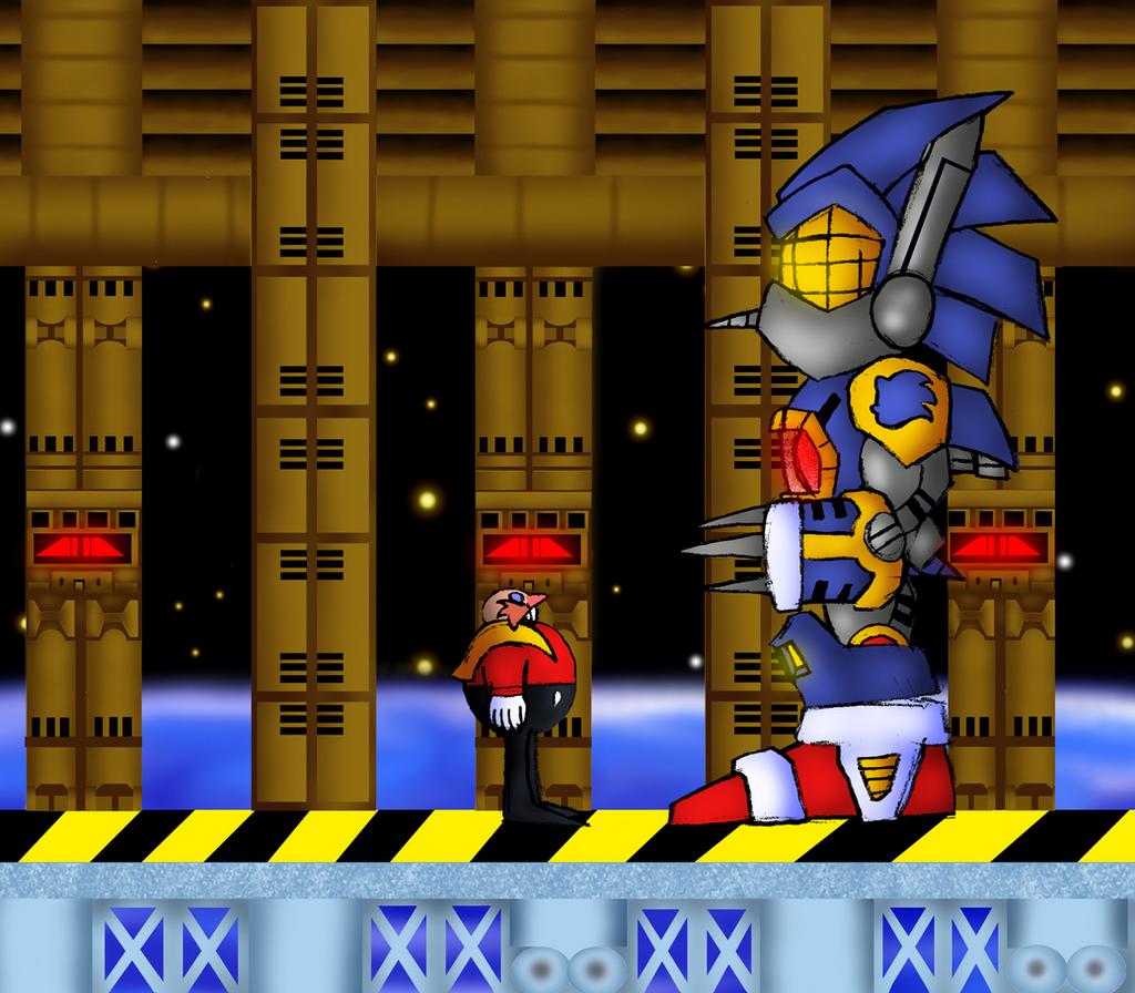 Robotnik The Eggman 2 Final Boss By Warahi On Deviantart
