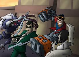 Generator Rex Fight - Request Week