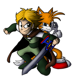 David and Tails for Sparrow12592