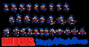 Retro Rework - Mario Bros Mario Animation Frames