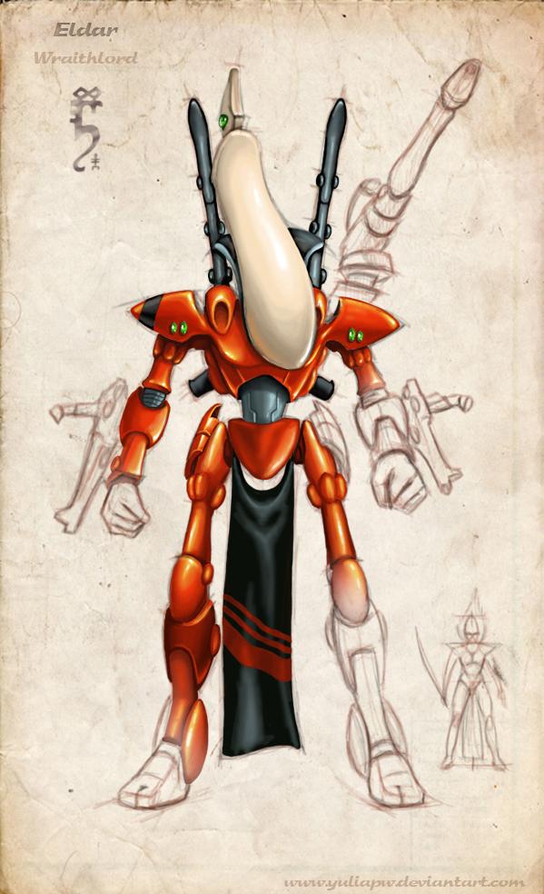 Eldar: Wraithlord by YuliaPW
