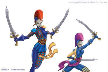 Eldar: Harlequins