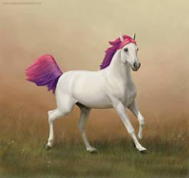 Vanilla horse