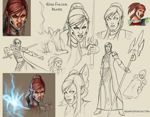 Farseer Idranel sketch