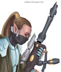 Eldar Ranger by YuliaPW