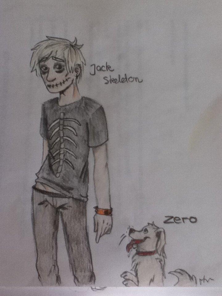 Jack skelleton human by Thea0605