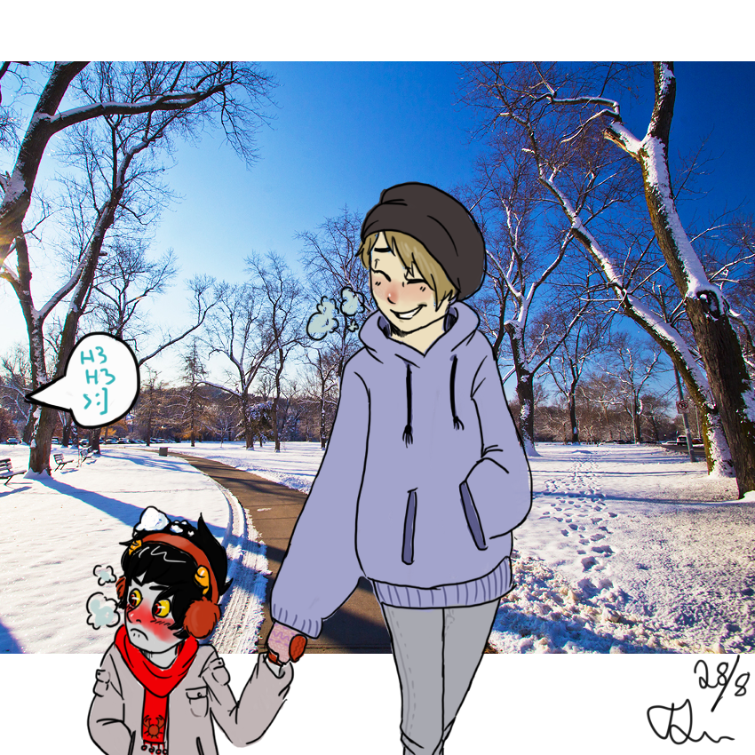 snow day by Thea0605