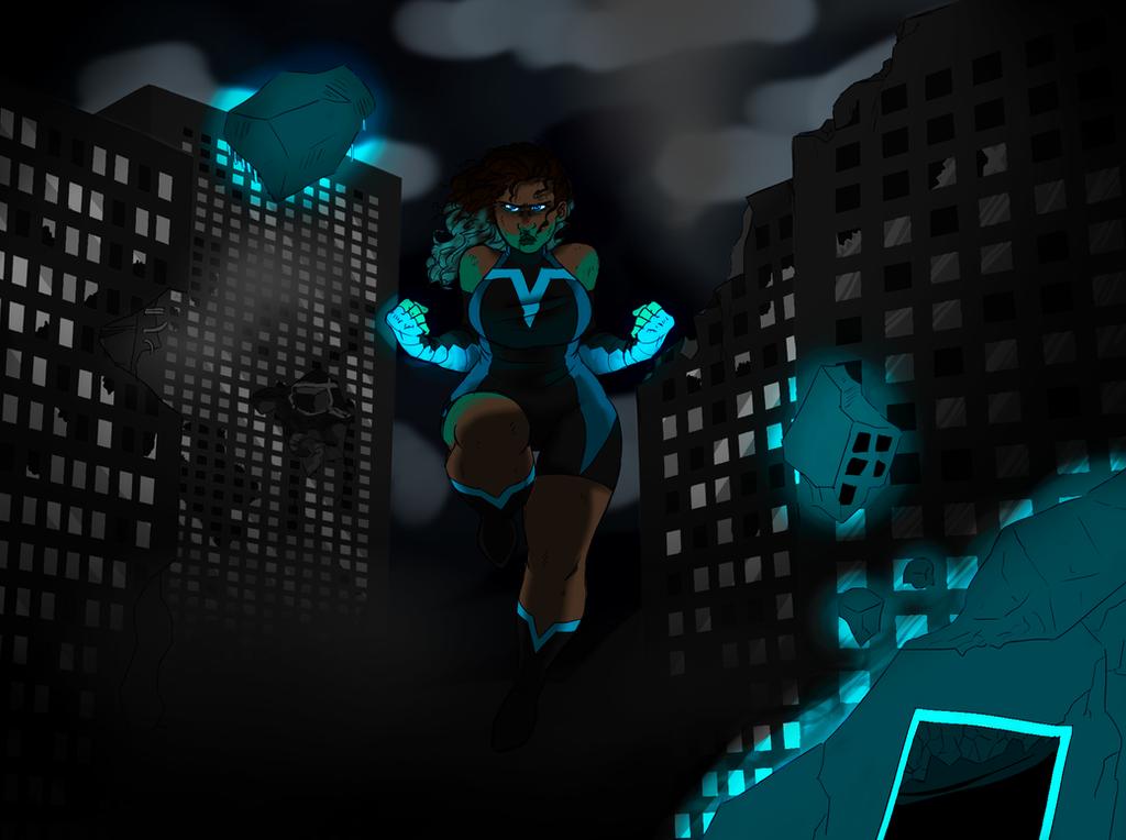 Superheroine by Thea0605