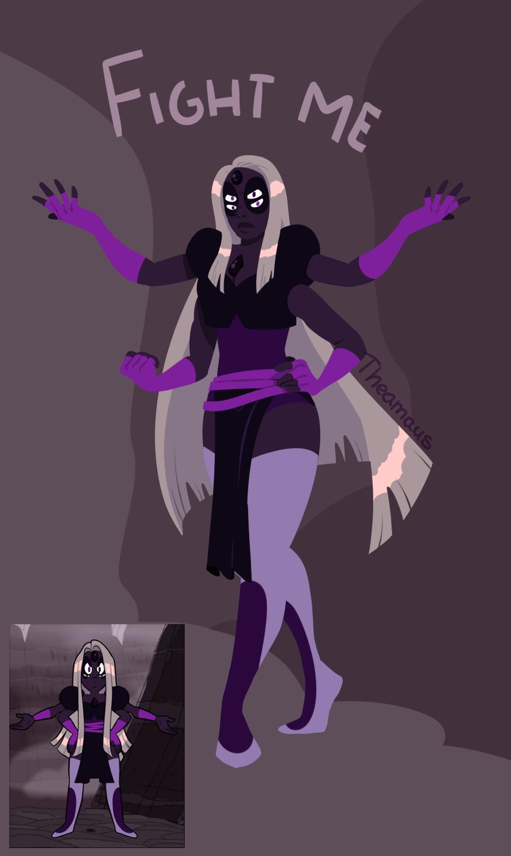 Fan fusion - Obsidian by Thea0605