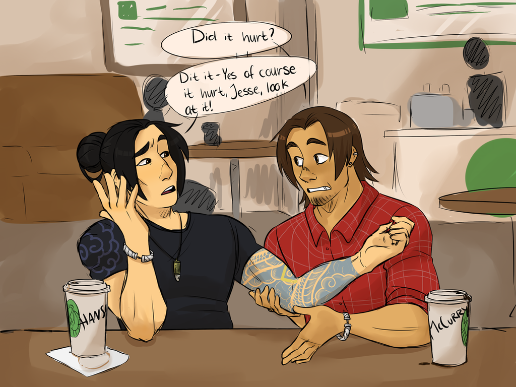 McHanzo week - Day 2 by Thea0605