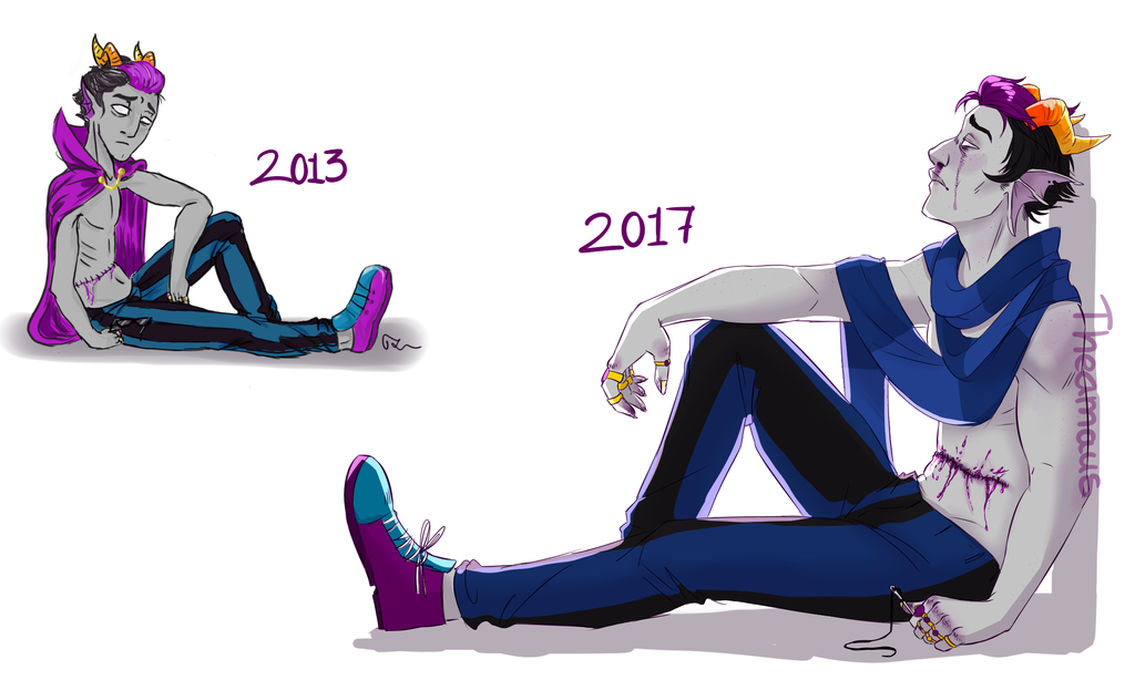 Eridan Redraw by Thea0605