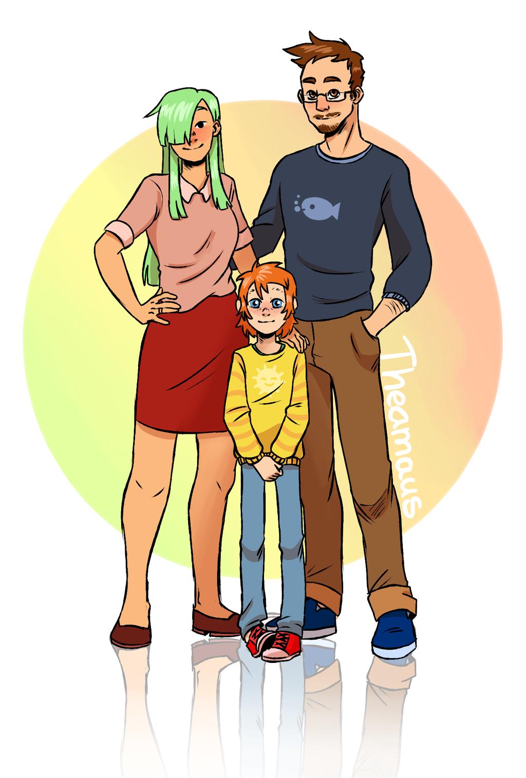 The Kazan Family - Part 1 by Thea0605