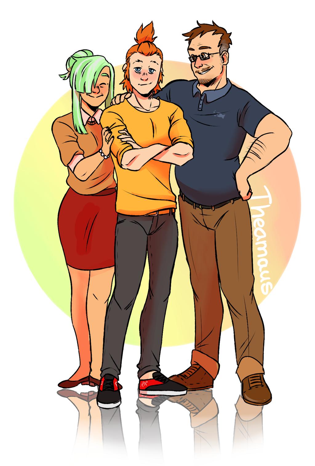 The Kazan Family - Part 2 by Thea0605