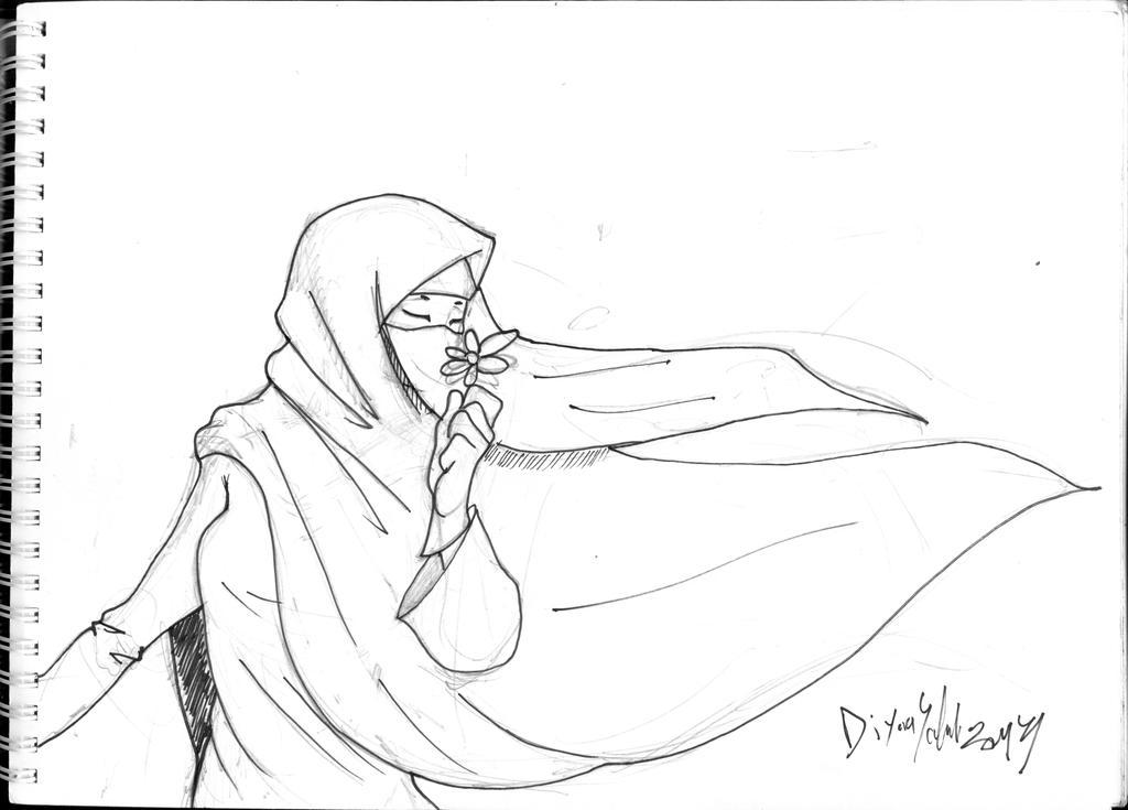 niqab by diyaa2013 on DeviantArt