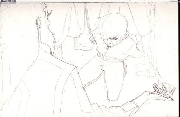 sketch by diyaa2013