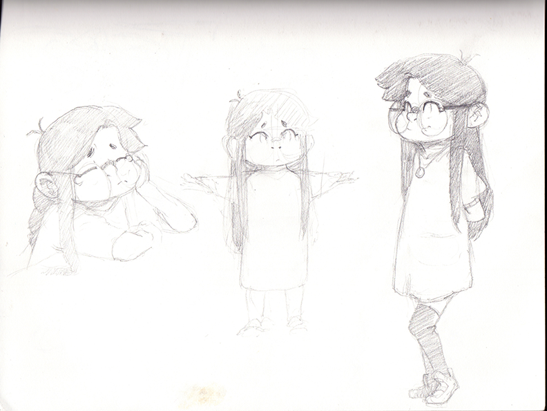 sketching by diyaa2013