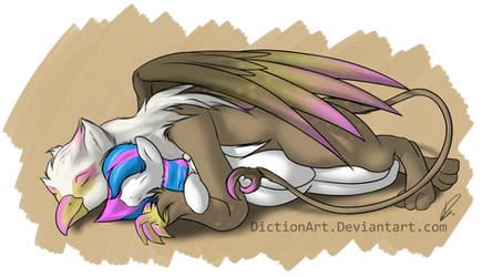 Gryphon Snuggle Cuddles
