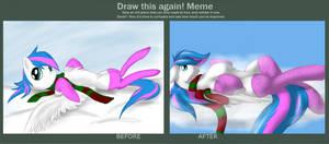 'Draw this again! Meme' Cloud on a Cloud
