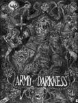Army of Darkness- Black+white