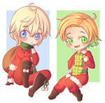 [Gift] Holiday Chibis