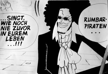 One Piece Brook Panel by AiAkitaAnima