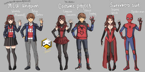 My Marvel Academia...LOL wtf