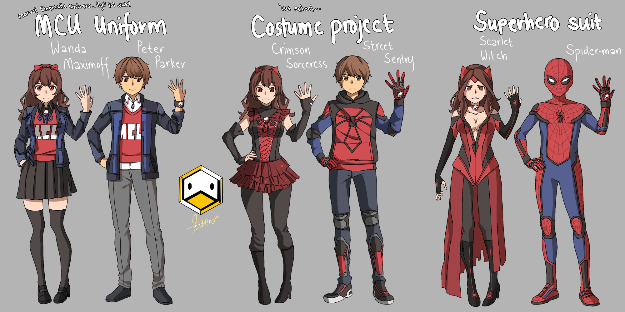 My Marvel Academia   LOL wtf by DuckLordEthan on DeviantArt