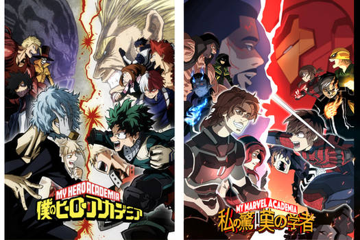 Boku No Marvel Academia art 3