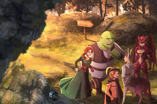 Shrek by DuckLordEthan