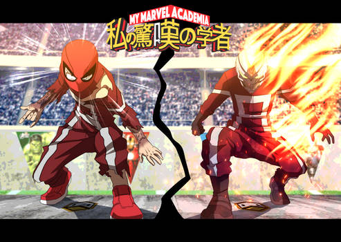 Boku No Marvel Academia art 4 by DuckLordEthan