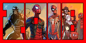 Year of Spider-man by DuckLordEthan