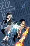 Rider and Snow
