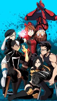 Boku no Marvel Academia art 5