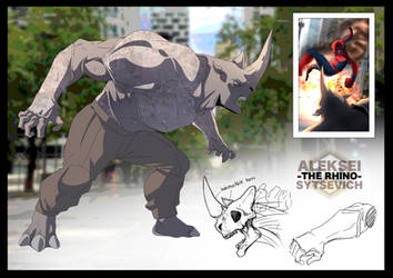 EARTH-6160: Spider-man 18 (The Rhino)