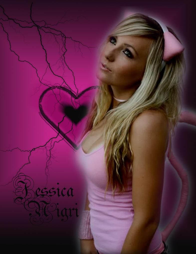 Jessica Nigri blackheart by Jenova94