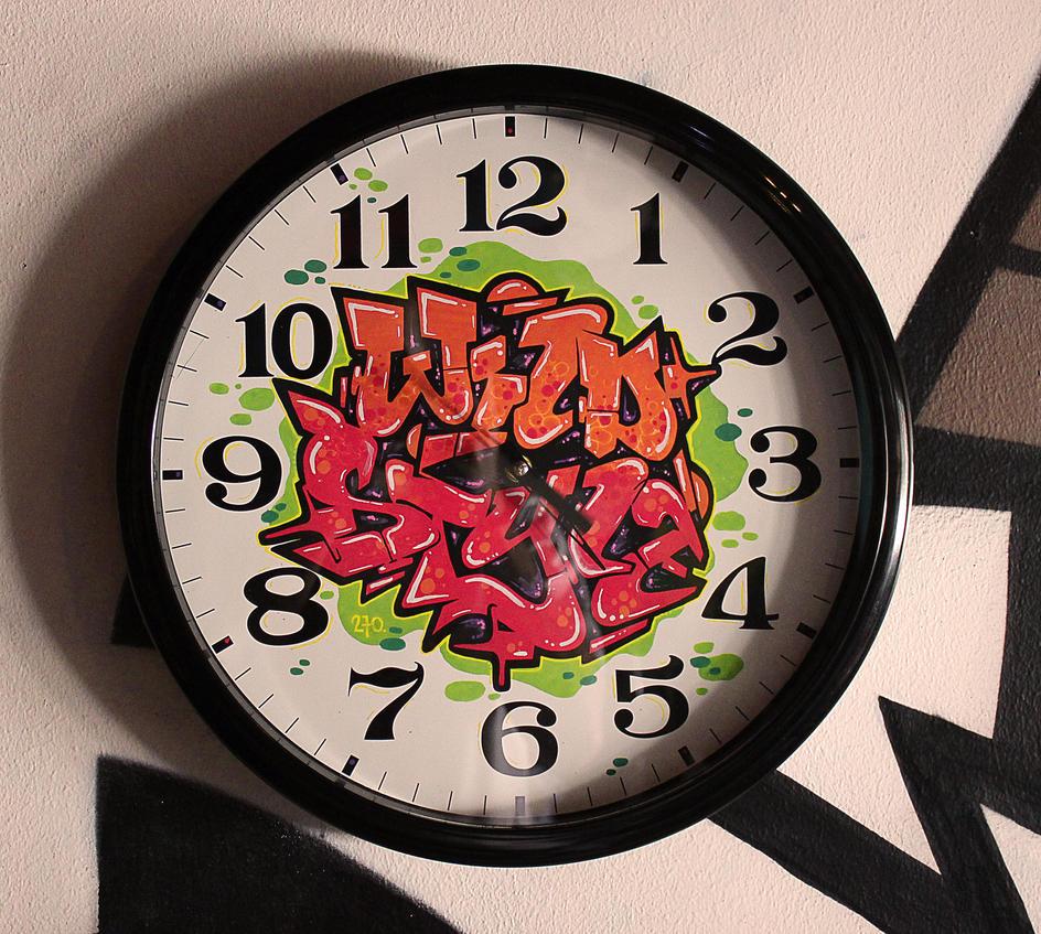 Wall Clock by KOREEE
