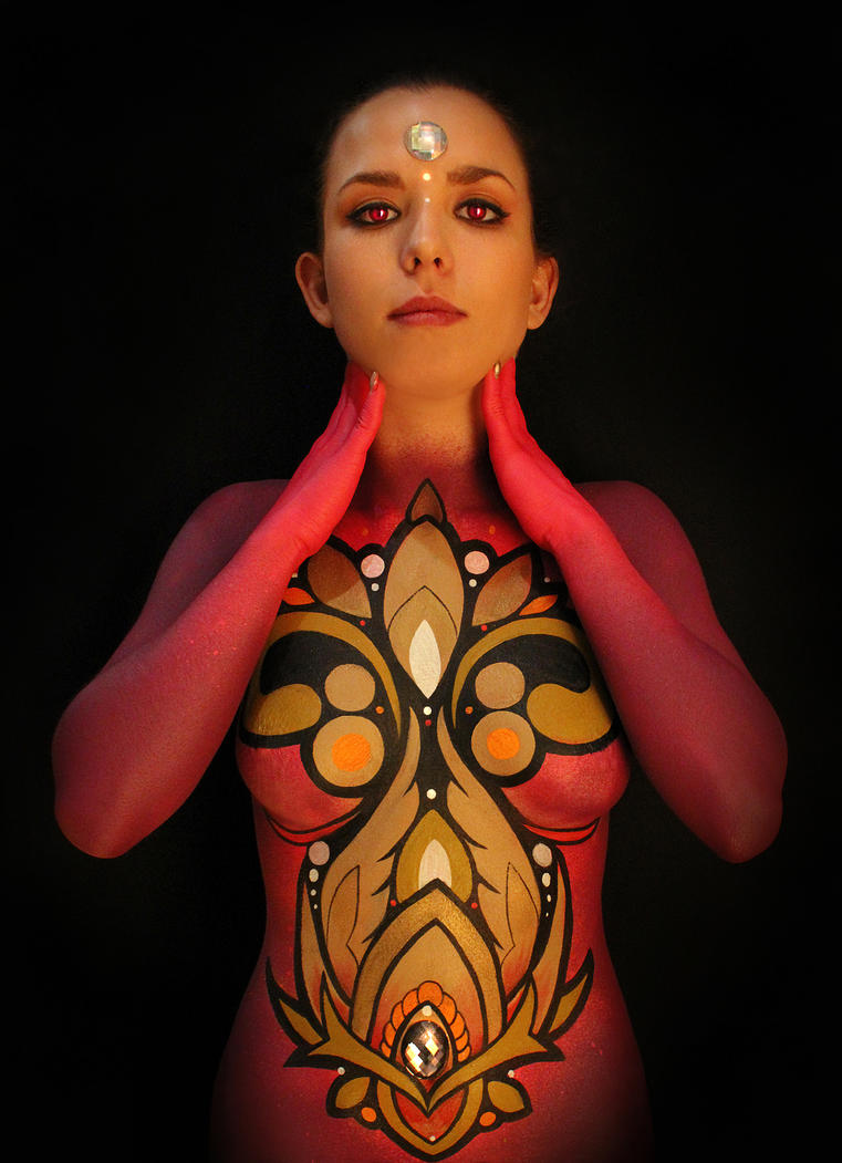 Helix Bodypaint by KOREEE