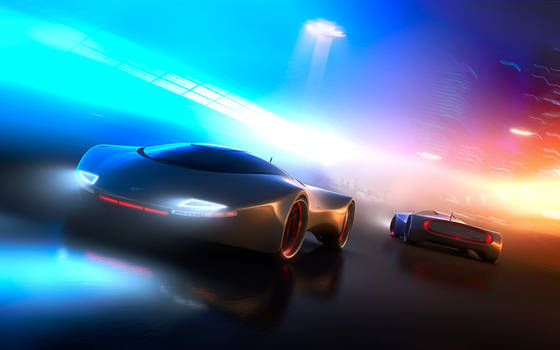 Concept Car - Syd Mead Comp