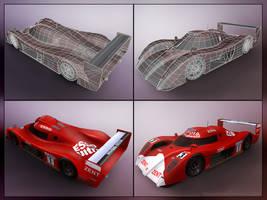 Toyota GT-1 - Low Poly by 3DnuTTa
