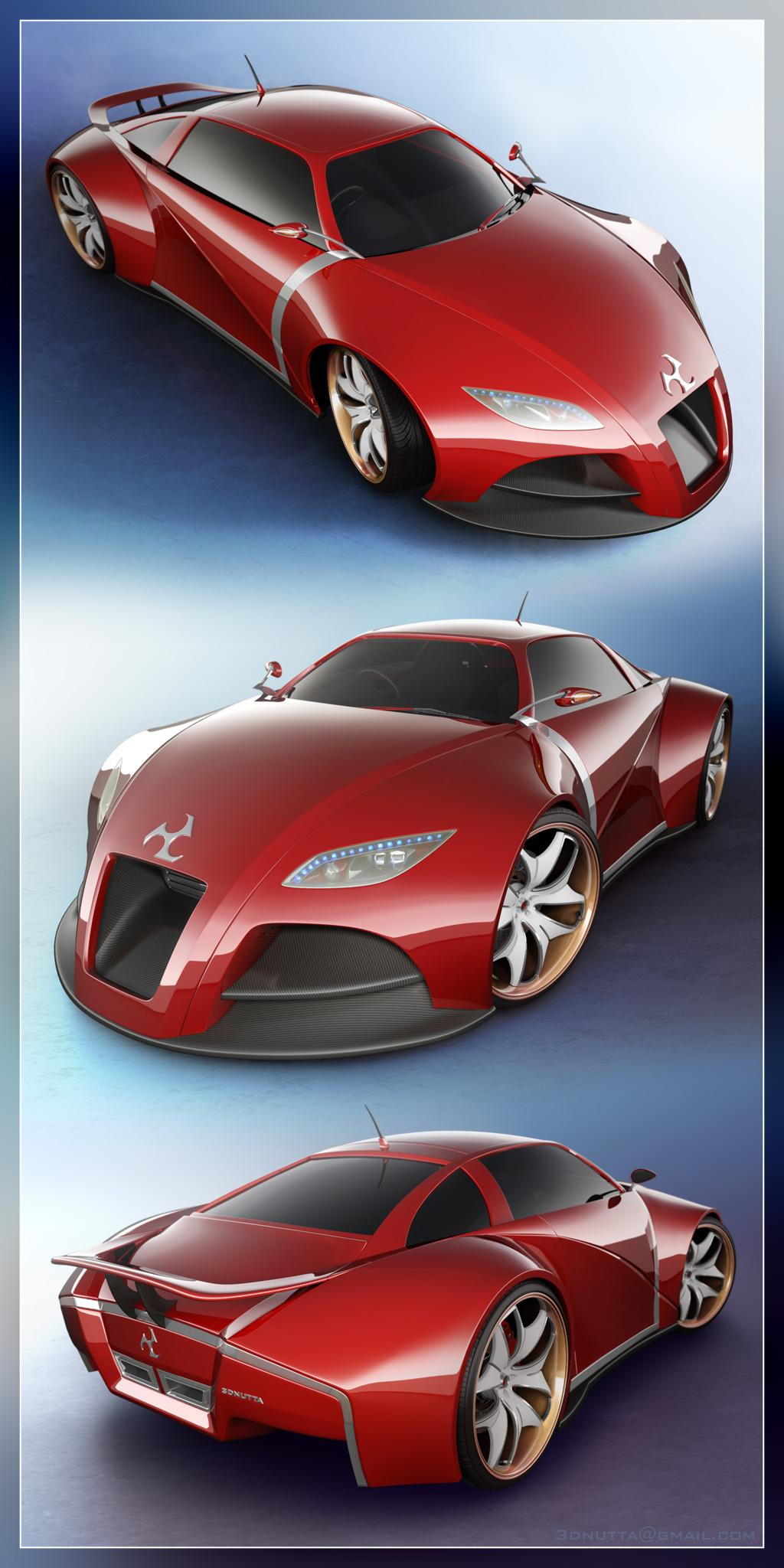 Concept Car V2 - Panel by 3DnuTTa