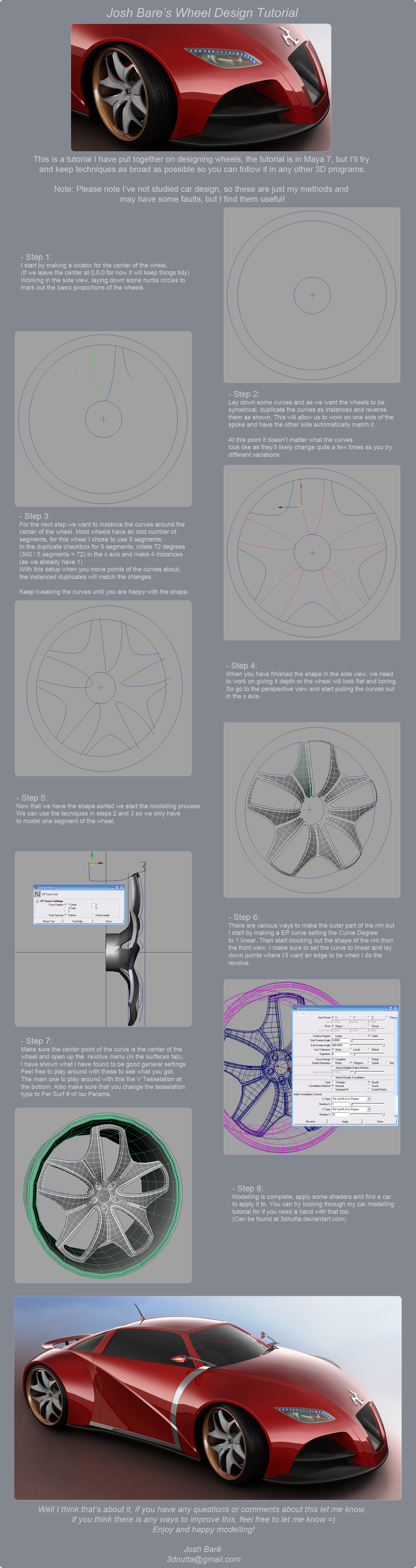 3DnuTTa's Rim Design Tutorial