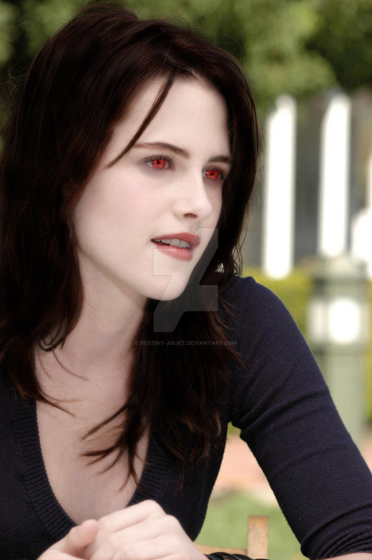 Bella Swan As A Vampire by Destiny-Juliet on DeviantArt